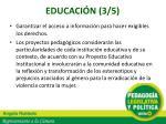 educaci n 3 5