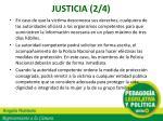 justicia 2 4
