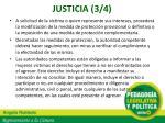 justicia 3 4