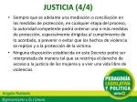 justicia 4 4