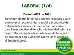 laboral 1 4