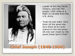 chief joseph 1840 1904