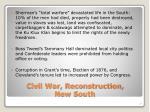 civil war reconstruction new south