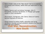 civil war reconstruction new south1