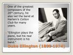 duke ellington 1899 1974