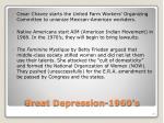 great depression 1960 s2