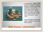 red power alcatraz