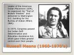 russell means 1960 1970 s