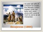 sacajawea 1804