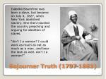sojourner truth 1797 1883