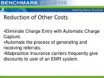 reduction of other costs