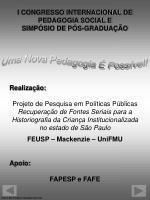 i congresso internacional de pedagogia social e simp sio de p s gradua o1