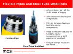 flexible pipes and steel tube umbilicals1
