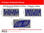friction induced stress