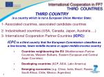 international cooperation in fp7 third countries