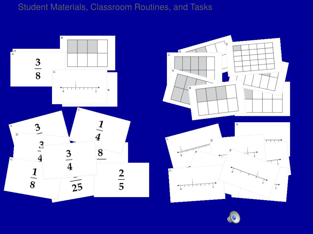 Student Materials, Classroom Routines, and Tasks