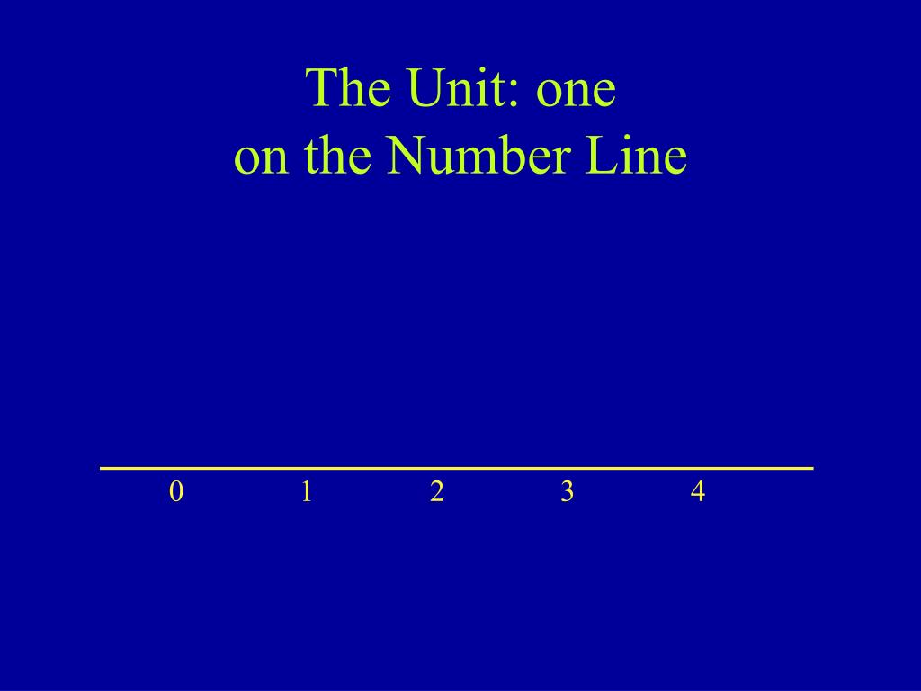 The Unit: one