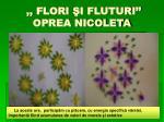 flori i fluturi oprea nicoleta