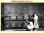computadora e n i a c
