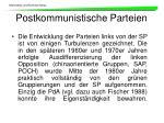 postkommunistische parteien