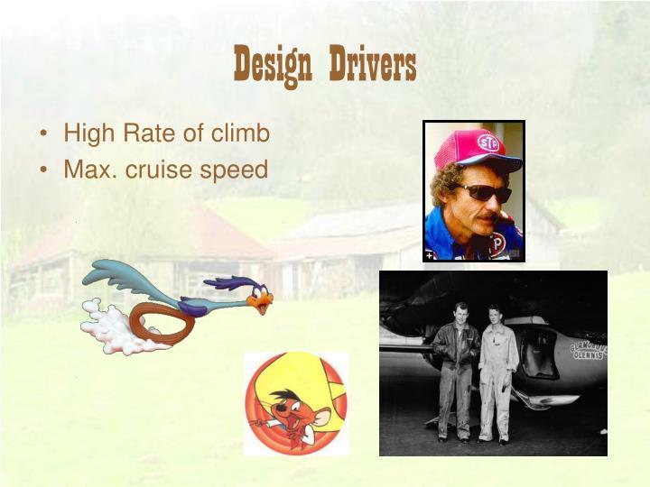 Design drivers