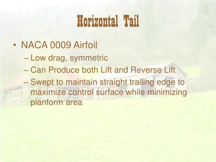 Horizontal Tail