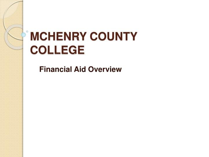 mchenry county college n.