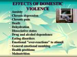effects of domestic violence