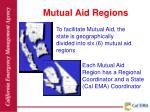 mutual aid regions