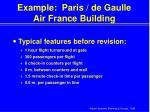 example paris de gaulle air france building