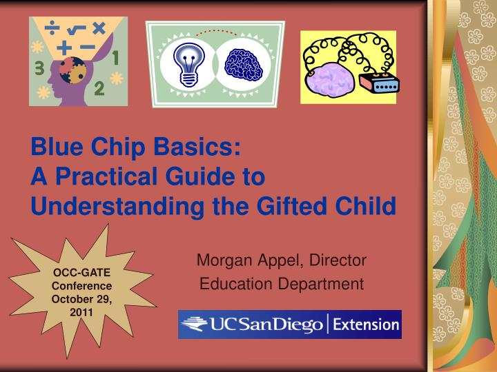 blue chip basics a practical guide to understanding the gifted child n.