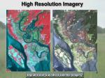 high resolution imagery