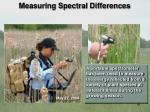 measuring spectral differences1