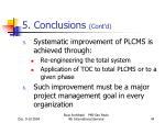 5 conclusions cont d3