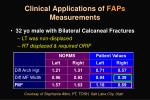 clinical applications of faps measurements1