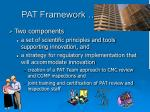 pat framework