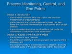 process monitoring control and end points