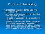 process understanding1