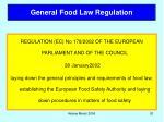general food law regulation