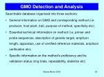 gmo detection and analysis1