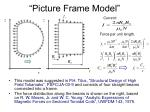 picture frame model