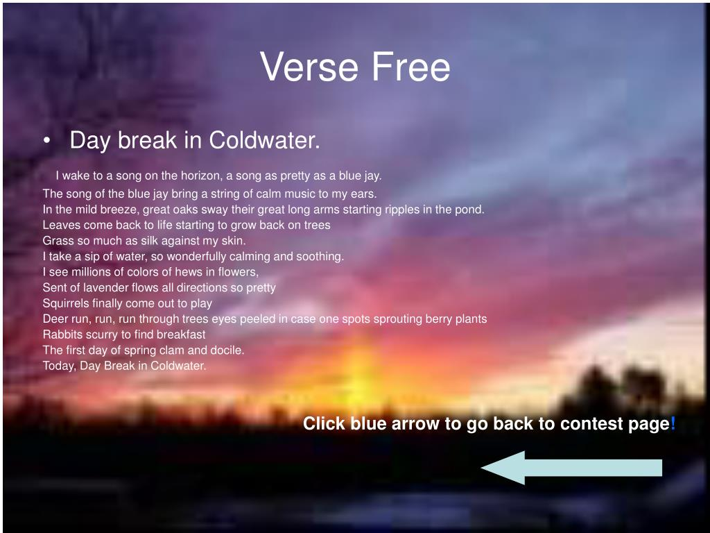 Verse Free