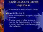 hubert dreyfus vs edward feigenbaum