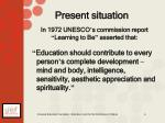 in 1972 unesco s commission report learning to be asserted that