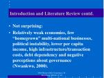 introduction and literature review contd1