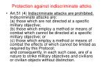 protection against indiscriminate attcks