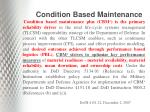 condition based maintenance1