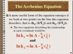 the arrhenius equation4