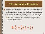 the arrhenius equation5