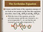 the arrhenius equation6